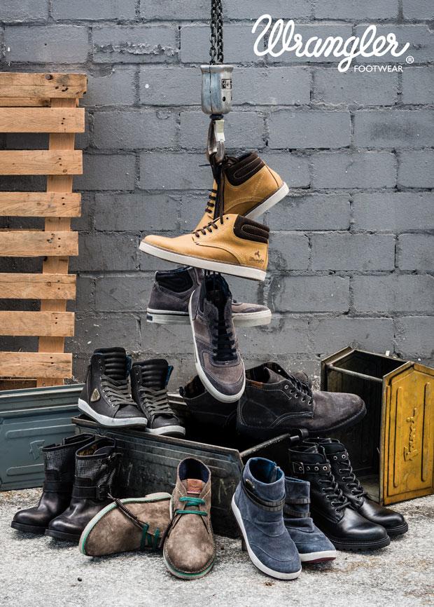 обувь wrangler